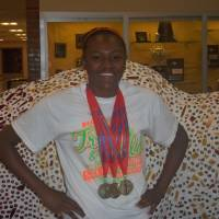 Photo - Audrianna Morgan, Centennial, girls high school track and field      ORG XMIT: 1206082227150875