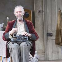 Photo -   In this undated image released by the Brooklyn Academy of Music, actor Jonathan Pryce is shown during a performance of