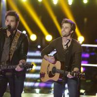 """Photo -  THE VOICE -- """"Battle Rounds"""" Episode 407 -- Pictured: """"The Swon Brothers"""" -- (Photo by: Trae Patton/NBC)"""
