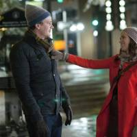 """Photo - Jason Segel and Emily Blunt are shown in a scene from """"The Five-Year Engagement."""" UNIVERSAL PICTURES PHOTO"""