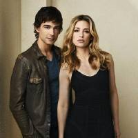 """Photo -  """"Covert Affairs"""": Christopher Gorham as Auggie Anderson and Piper Perabo as Annie Walker - Photo by: Andrew Eccles/USA Network"""