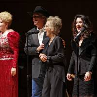Photo - The Sullivans perform at one of their annual concerts, which benefit the Women's Resource Center. From left are Stacy Sullivan, KT Sullivan, Tim Sullivan, Elizabeth Sullivan, Robin Brooks Sullivan and Pat Sullivan. OKLAHOMAN ARCHIVE PHOTO