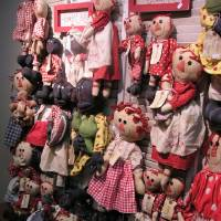 Photo - Rag dolls like these and other vintage seasonal items created by folk festival vendors. Country Keepsakes are examples of the handcrafted offerings available at the Beavers Bend Folk Festival & Craft Show. (Photo provided)