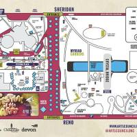 Photo - Maps of events for the Festival of the Arts.