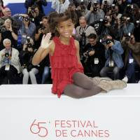 Photo - FILE - In this May 19, 2012 file photo, actress Quvenzhane Wallis poses during a photo call for