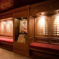 Photo - In this image made available by the Grand Ole Opry in Nashville, TN.,  shows The Member Gallery on Oct. 28, 2010. The member gallery displays a plaque for every Opry member. The Grand Ole Pry is offering the VIP Behind the Opry Curtain Tour and Opry House Post Show Tour showing a variety of dressing rooms and inner workings of the Opry moments before the big curtain goes up.  (AP Photo/Grand Ole Opry, Chris Hollo)