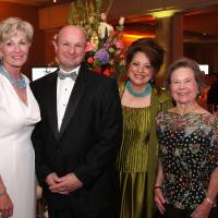 Photo - Susan Parker, Oliver Boudin, Sue Ann Hyde, Martha Williams.  PHOTO BY DAVID FAYTINGER, FOR THE OKLAHOMAN