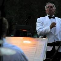 Photo -  Dr. Irv Wagner leading his concert band at 2013's Tribute to Liberty in Midwest City. Photo provided.