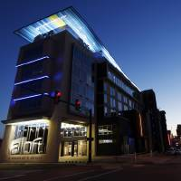 Photo -  The Aloft Hotel is seen at NE 2 and Walnut in Oklahoma City. Photo by Nate Billings, The Oklahoman   NATE BILLINGS -