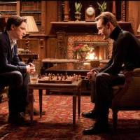 Photo - From left, James McAvoy plays Charles Xavier/Professor X and Michael Fassbender plays Erik Lehnsherr/Magneto in