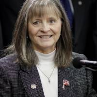 State Rep. Sally Kern, R-Oklahoma City, during a press conference supporting the personhood bill in the Oklahoma House Monday, April 21, 2012. Photo by Doug Hoke, The Oklahoman