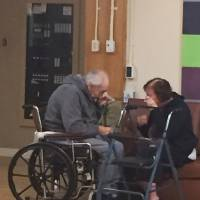 Photo of separated elderly Canada couple gets world's attention