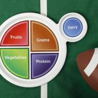 Photo - A balanced diet matches up nicely with Super Bowl parties.  DOUG HOKE - THE OKLAHOMAN