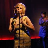 Photo -   This theater image released by The O + M Company shows Kirsten Holly Smith as Dusty Springfield in