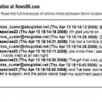 Photo - JAMIE ROSE BOLIN / JAMIE BOLIN / MURDER / KEVIN RAY UNDERWOOD / GRAPHIC: Transcript of online chats between Kevin Underwood and California woman