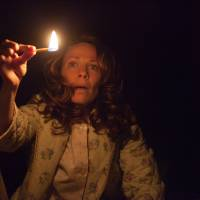 """Photo -  In this publicity image released by Warner Bros. Pictures, Lili Taylor portrays Carolyn Perron in a scene from """"The Conjuring."""" (AP Photo/New Line Cinema/Warner Bros. Pictures, Michael Tackett) ORG XMIT: NYET267"""