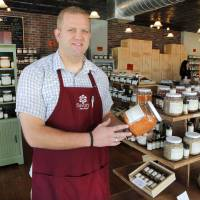 Photo - Able Blakley, owner of Savory Spice, in Oklahoma City, the first store to specialize strictly in spices, Friday, September 21, 2012. Photo By David McDaniel, The Oklahoman  David McDaniel - The Oklahoman