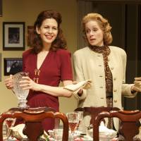 Photo - This theater publicity image released by Boneau/Bryan-Brown shows Jessica Hecht, left, and Judith Light in a scene from