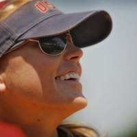 Photo - Jennie Finch announced she will retire from softball after this week's World Cup. Photo by Chris Landsberger, The Oklahoman