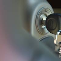 Photo - FILE - This April 1, 2014 file photo shows the ignition switch of a 2005 Chevrolet Cobalt in Alexandria, Va. General Motors reports quarterly earnings on Thursday, April 24, 2014. (AP Photo/Molly Riley)