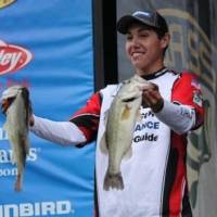 Photo - Trevor Yates, a junior at Little Axe High School, won the Bassmaster Junior World Championship last weekend on the Arkansas River in Dardanelle, Ark. Yates won the Oklahoma state championship and a divisional tournament to reach the world championship.  Photo by Bassmaster.com