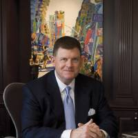 Photo - CLAYTON BENNETT / CLAYTON I. BENNETT: Clay Bennett, chairman of the Oklahoma City Thunder NBA basketball team, named the 2008 Oklahoman of the Year by Oklahoma Today magazine  PHOTO BY JOHN JERNIGAN/OKLAHOMA TODAY       ORG XMIT: 0812162235405173