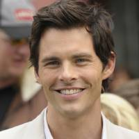 Photo - Actor James Marsden arrives at the premiere of the feature film