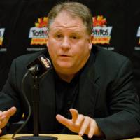 Photo - Oregon football coach, Chip Kelly, discusses the upcoming Fiesta Bowl with the media at a press conference on Wednesday, Dec. 26, 2012 in Scottsdale, Ariz. (AP Photo/The Arizona Republic,Angela Piazza)  MARICOPA COUNTY OUT; MAGS OUT; NO SALES