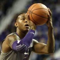 Photo - Kansas State's Marcus Foster shoots a free throw during the first half of an NCAA college basketball game against Long Beach State, Sunday, Nov. 17, 2013, in Manhattan, Kan. Kansas State won 71-58. (AP Photo/Charlie Riedel)