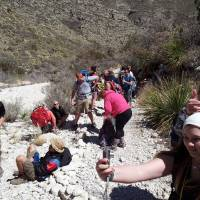 Photo - Teens from Oklahoma City and Houston take part in a drug and alcohol recovery retreat in March in the Guadalupe Mountains of West Texas. Photo provided.  PROVIDED