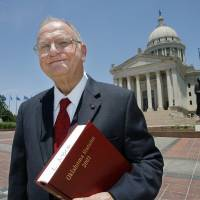 Photo - Jerry Fent at the state Capitol, Friday,  June 5, 2009. Fent alleges in a lawsuit filed in Oklahoma County District Court that transfers from the Unclaimed Property Fund maintained by the state treasurer's office are illegal.. Photo By David McDaniel, The Oklahoman.
