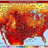 Think it\'s hot now? Expect three more warm months