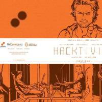 "Photo -  The cover to the ComicsPRO variant cover of ""Hacktivist"" is shown. Photo provided        -"