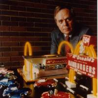 Photo - This photo provided by McDonald's shows the former McDonald's CEO Fred L. Turner. Turner, who helped expand the fast-food chain's global footprint and spearheaded the creation of