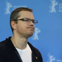 Photo - Actor Matt Damon poses at the photo call for the film Promised Land at the 63rd edition of the Berlinale, International Film Festival in Berlin, Friday, Feb.8,2013. (AP Photo/Gero Breloer)