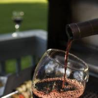 Photo - Some red wine around the grill is never a bad way to go, but not so Bordeaux.