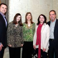 Photo - Simon Shingleton, Dana Galiga, Cindy Raby, Katie Pearce, Mark Gautreaux.