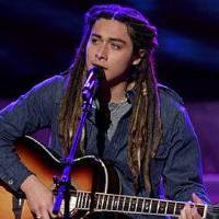 Photo - Jason Castro performs a song as a contestant on Season 7 of the Fox reality TV show