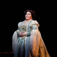Photo -   In this Jan. 30, 2012, photo provided by the Metropolitan Opera Angela Meade performs as Elvira in Verdi's