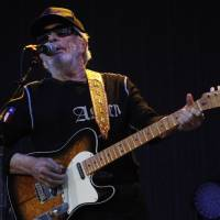 Photo -  Merle Haggard performs at OKCFest in downtown Oklahoma City on Friday. OKCFest is a new two-day country music festival with multiple stages downtown.    KT King -  The Oklahoman