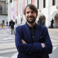 Photo - FILE - This April 29, 2013 file photo shows Danish chef Rene Redzepi in London. Redzepi's restaurant Noma in Copenhagen, Denmark won the title of world's top restaurant. Noma _ which has a meticulous focus on simple, indigenous ingredients such as snails, moss and cod liver _ held the No. 1 spot on Restaurant magazine's annual ranking of the world's 50 best restaurants for three years before being bested in 2013 by avant-garde eatery El Celler de Can Roca in Girona, Spain. During a ceremony Monday in London, Noma reclaimed the top spot while El Celler fell to No. 2. (AP Photo/Lefteris Pitarakis, File)