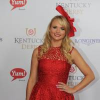 Photo - Miranda Lambert is photographed at the 140th Kentucky Derby Saturday, May 3, 2014 in Louisville Ky. (Photo by Joe Imel/Invision/AP)