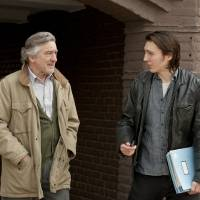 Photo -   In this film image released by Focus Features, Robert De Niro portrays Jonathan Flynn, left, and Paul Dano portrays Nick Flynn in a scene from