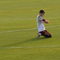 Photo - Spain's goalkeeper Iker Casillas adjusts his gloves during a training session at he Atletico Paranaense training center in Curitiba, Brazil, Saturday, June 14, 2014. Spain will play in group B of the Brazil 2014 World Cup. (AP Photo/Manu Fernandez)