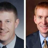 Photo - Left: Kevin Calvey Right: James Lankford