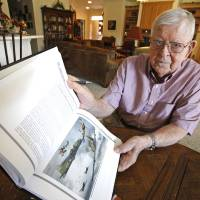 Photo - Lloyd Mitchell was on a B-17 in World War II.   David McDaniel - The Oklahoman
