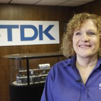 Photo - TDK Industries CEO Charlene Norvell at the Shawnee plant, Tuesday, November 6, 2012.   Photo By David McDaniel/The Oklahoman
