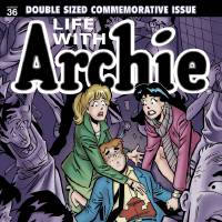 "Photo - Archie Andrews meets with death in ""Life With Archie"" No. 36.  IMAGES PROVIDED"