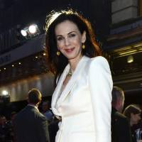 Photo - FILE - This Oct. 18, 2012 file photo shows fashion designer L'Wren Scott at the London Film Festival American Express Gala for