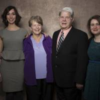 Photo - From left, filmmaker Lana Wilson, Dr. Susan Robinson, Dr. LeRoy Carhart, and filmmaker Martha Shane from the documentary